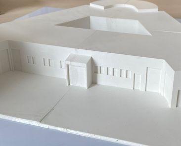 3D Modell Hospiz