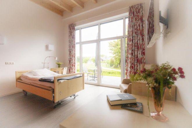 Schlafraum bei Hospiz zum guten Hirten